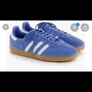 Jcrew Adidas Samba Sneakers Periwinkle size US 7